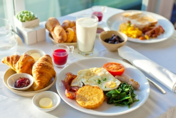 Baden-Baden, завтрак